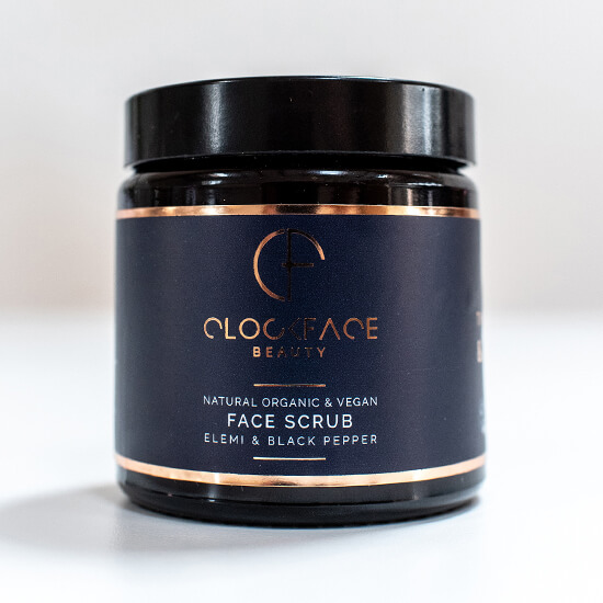 Clockface Beauty – Mens Face Scrub 1