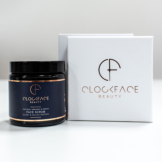 Clockface Beauty – Mens Face Scrub 3