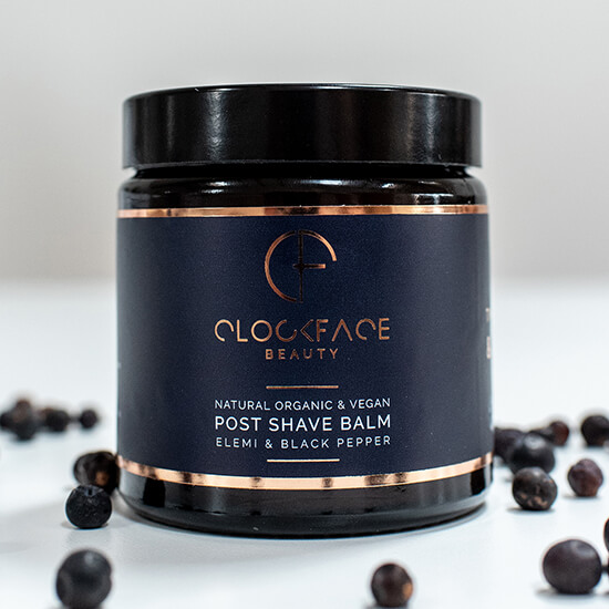 Clockface Beauty – Mens Post Shave Balm 2