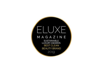 MARCH 2019: Eluxe Magazine Sustainable Beauty Awards winner